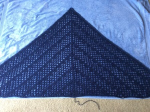 very blue in the blocking!